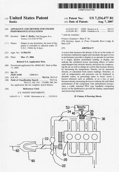 small resolution of check it out engine performance evaluation us patent 7 254 477