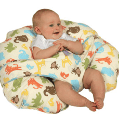 Boppy Baby Chair Spandex Sashes For Folding Chairs Pillow With Harness Bing Images