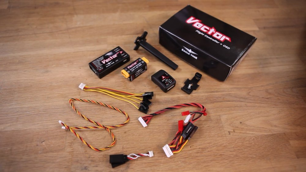 medium resolution of vector flight controller osd basic setup