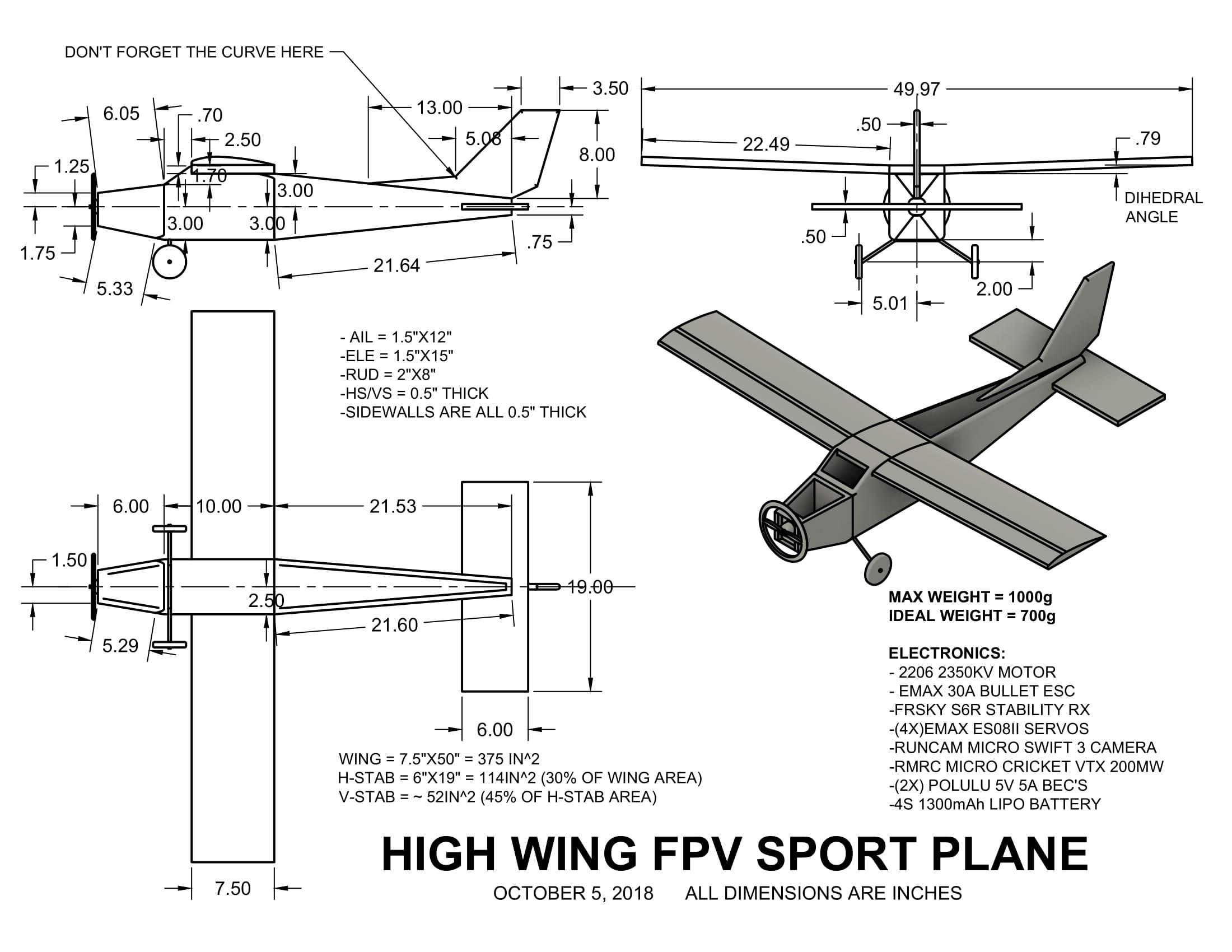 cessna 406 diagram home theater speaker wiring bush plane schematic simple site hatchet crash scratch built fpv flite