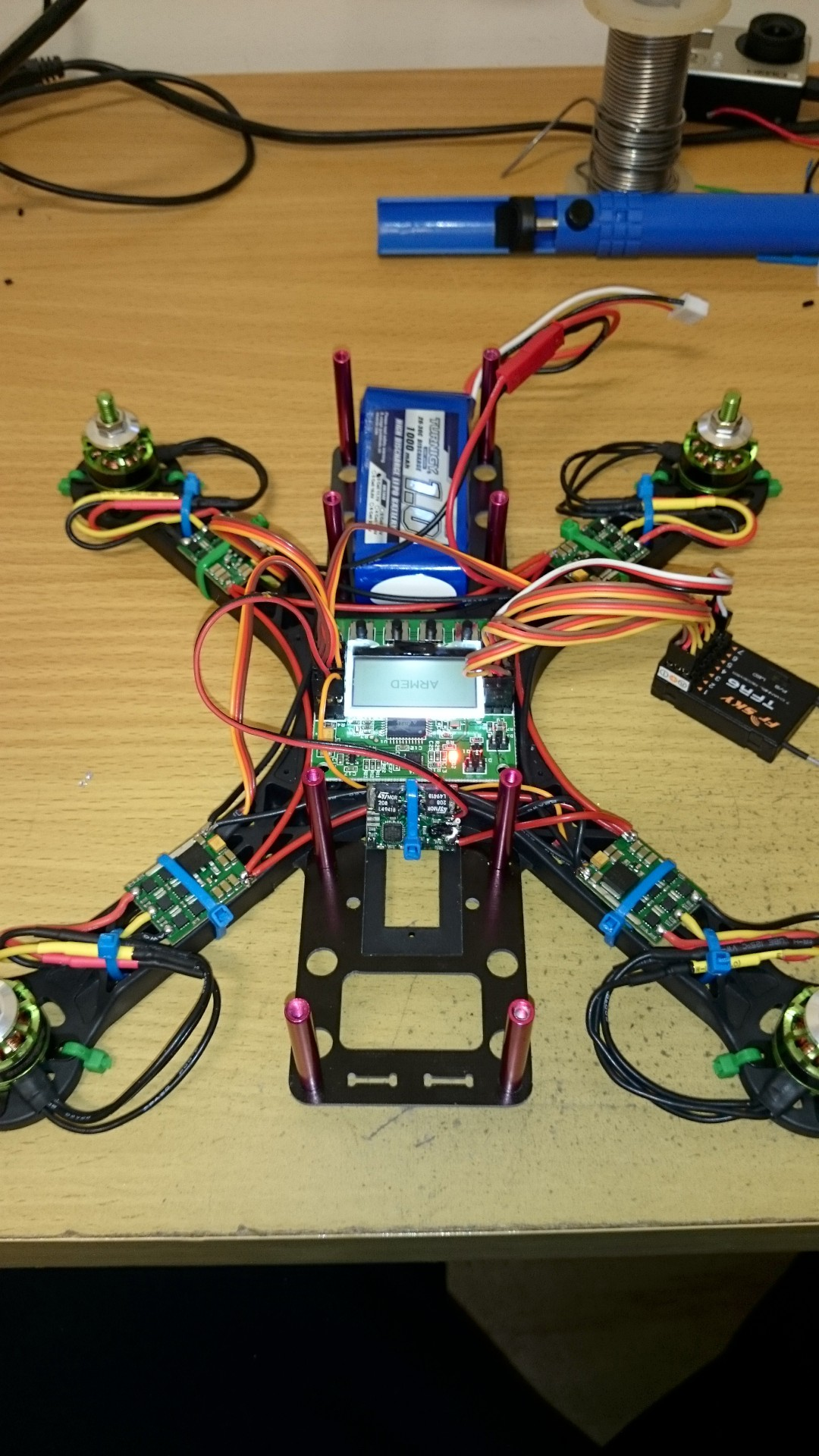 Wiring Harness Quadcopter