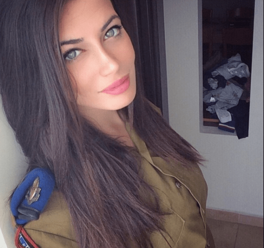 Female soldier of Israel