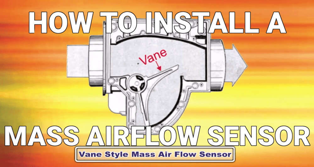 medium resolution of how to install mass airflow sensors