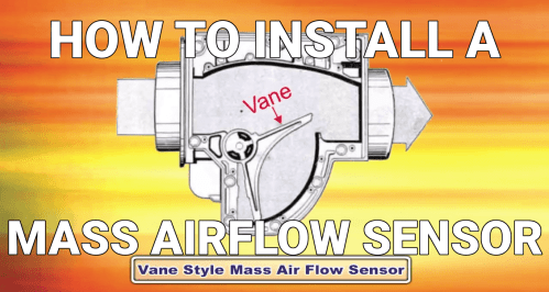 small resolution of how to install mass airflow sensors