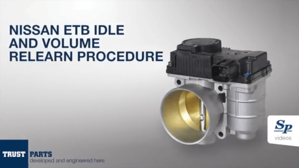 medium resolution of nissan electronic throttle body idle and volume relearn procedure