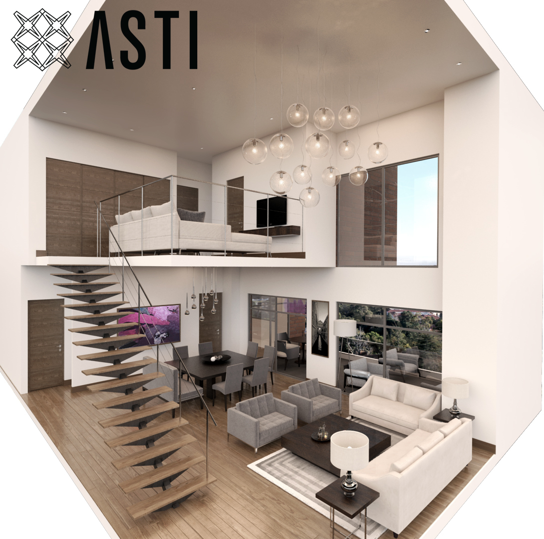Alquiler de apartamentos tipo LOFT en alquiler en ASTI
