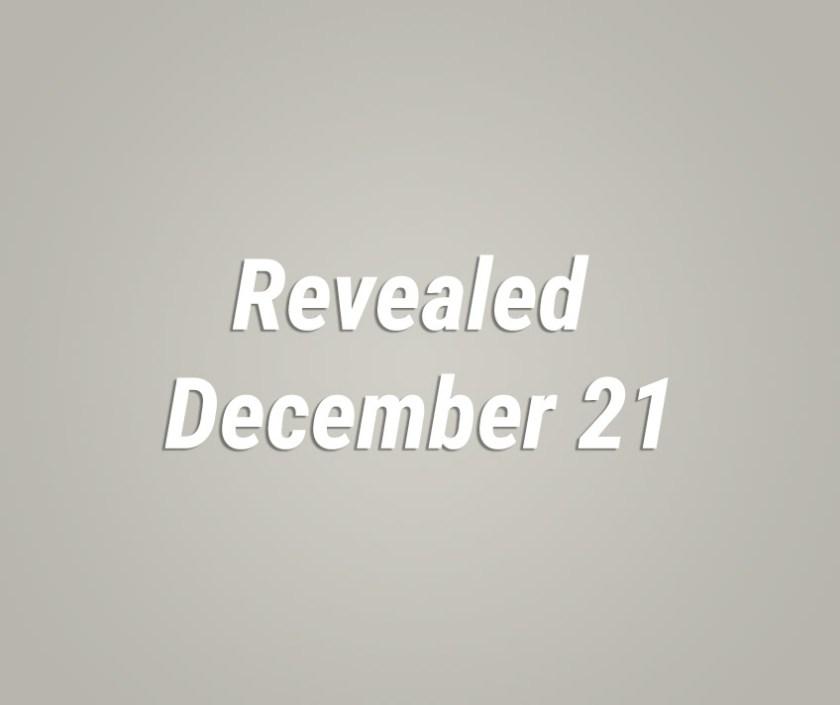 Revealed Dec 21, 2017