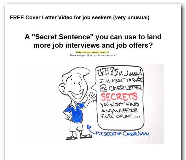 Resume And Cover Letter Magic Sentence
