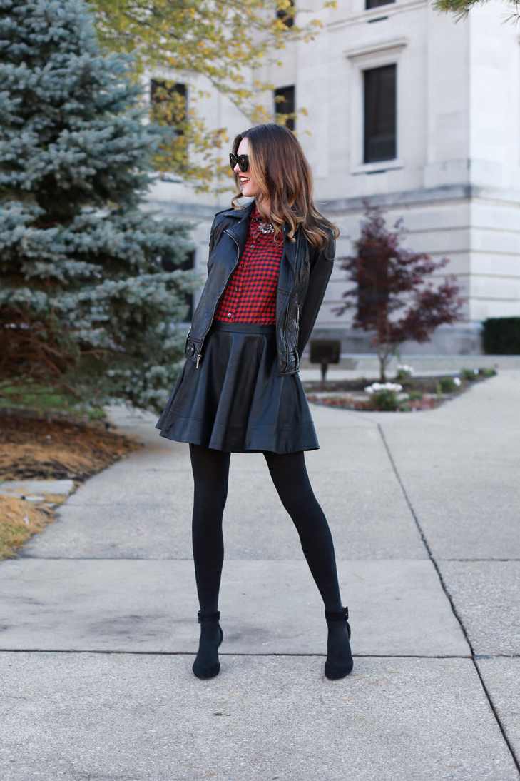 What I Wore  Buffalo Plaid on What I Wore