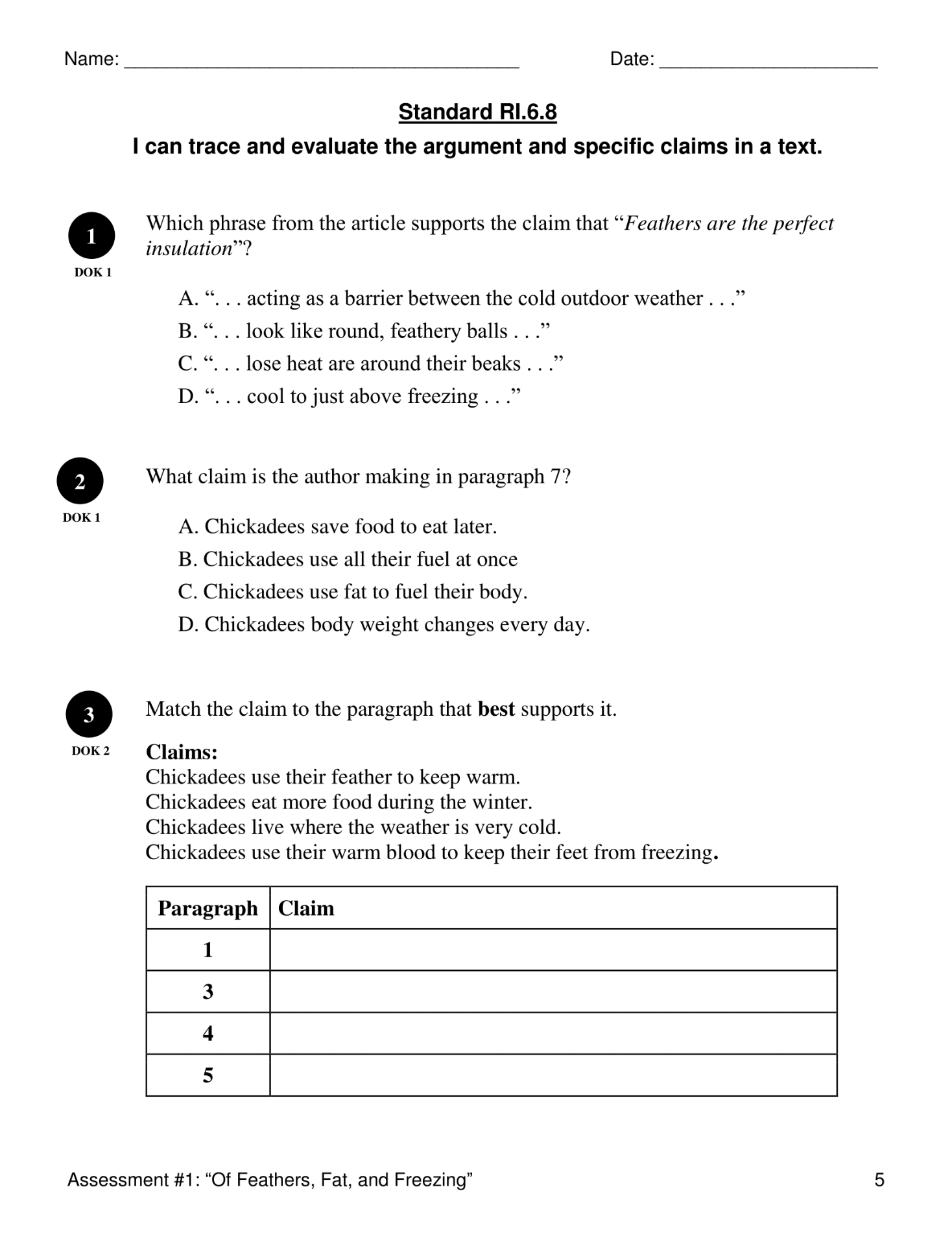 Ri 6 8 Evaluate Arguments And Claims