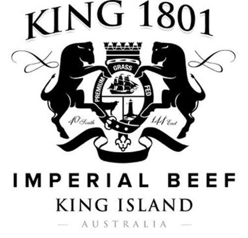 KING 1801 IMPERIAL BEEF KING ISLAND AUSTRALIA PREMIUM