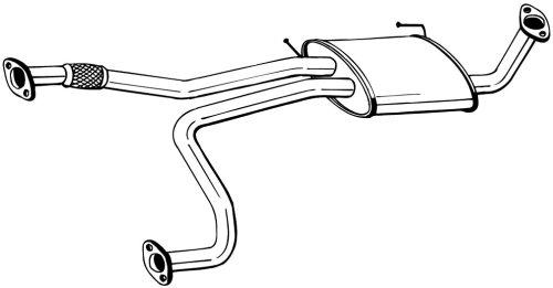 Bosal W0133-1601768 Exhaust Muffler