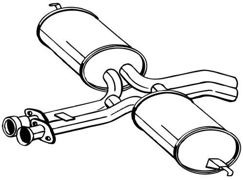 Bosal W0133-1599508 Exhaust Muffler