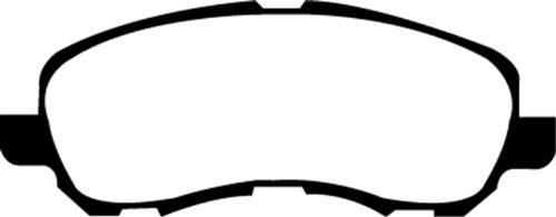 EBC Brakes DP21614 Greenstuff 2000 Series Sport Brake Pad