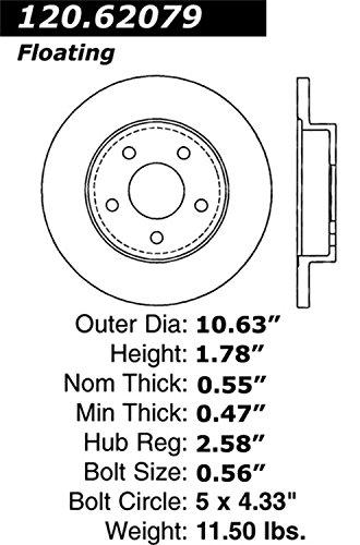 AutoPartsWAY.ca Canada 2006 Chevrolet Malibu Disc Brake