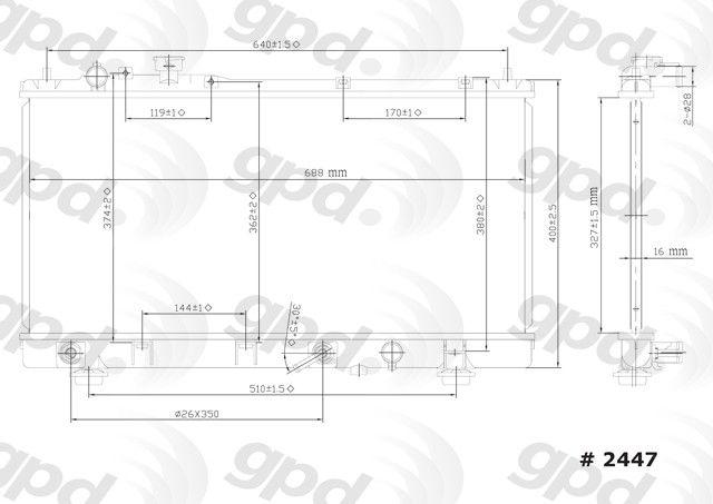 Firestone W217602446 Ride-Rite Kit for Ford F-450 Inboard