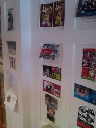 Adoptive families christmas card