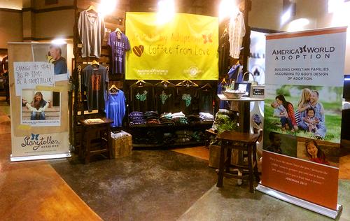 CAFO 2015 booth pano