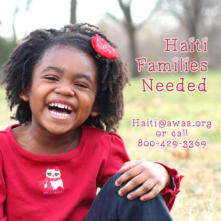 Haiti-Families-Needed