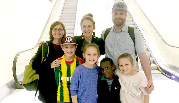 Welcome Home from Ethiopia, Menn Family!