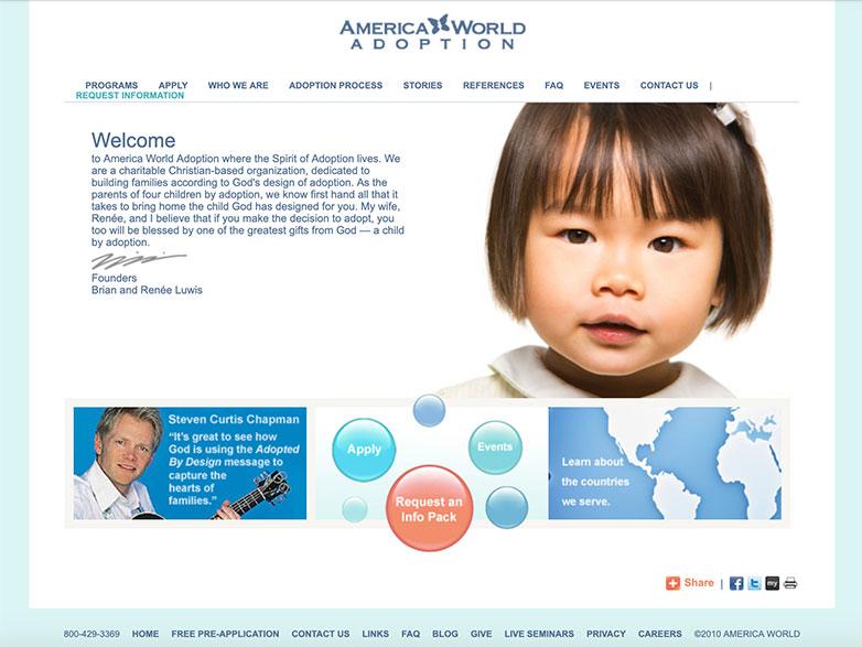 america world adoption