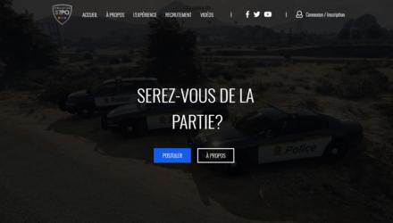 Communauté SRPQ - Site internet