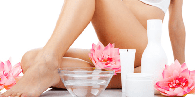 woman holding flower. Ayurvedic yeast infection treatments