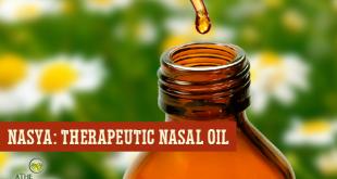 Nasya: Ayurvedic Herbal Nasal Oil