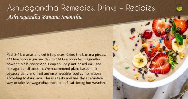 Recipes Banana smoothie