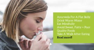 Ayurveda For A Flat Belly