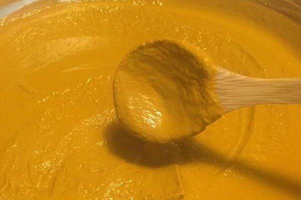 Homemade Golden Turmeric Paste