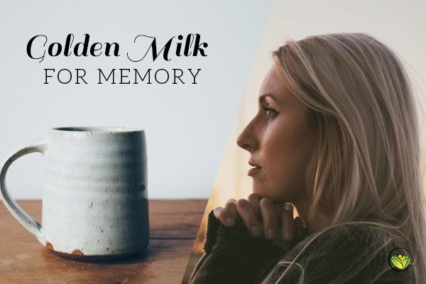 Golden Milk For Memory