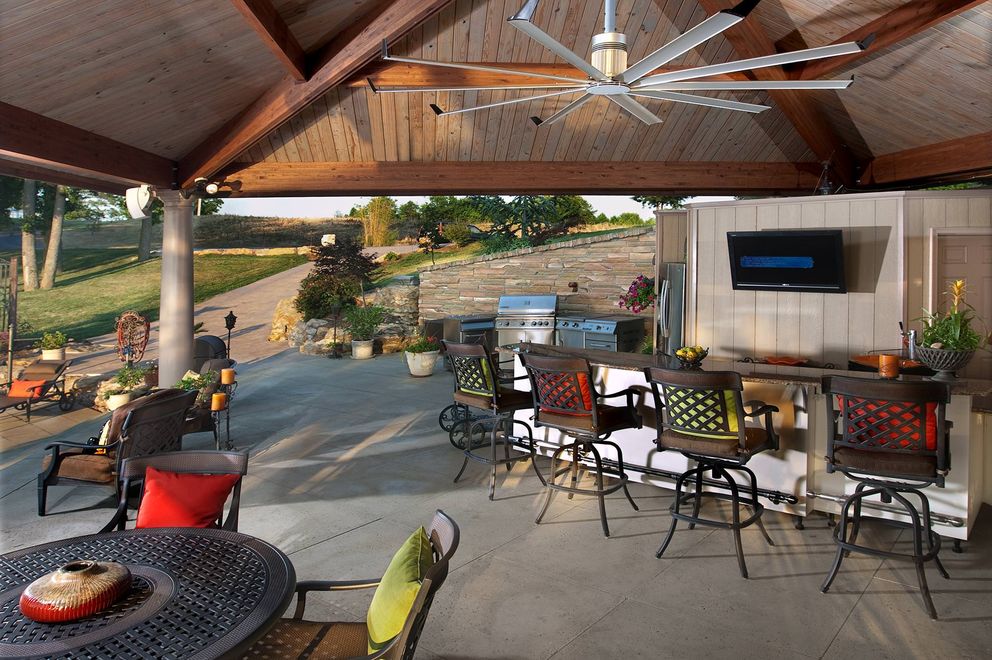 powerful quiet outdoor ceiling fans