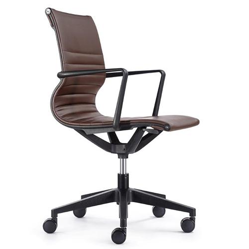 Ordinaire Kinetic Task Chair VT032V Brown Vinyl