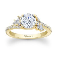 Barkev's Yellow Gold Engagement Ring 7908LY