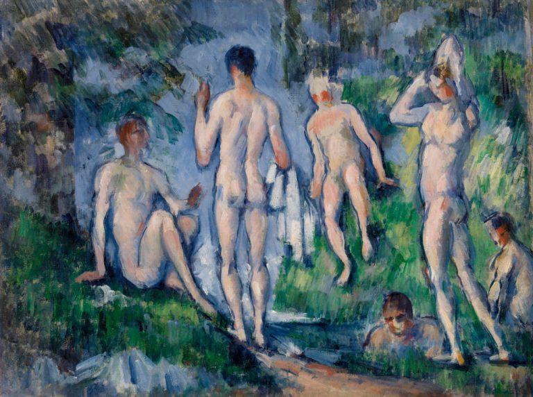 Group of Bathers (Groupe de baigneurs)