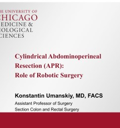 cylindrical abdominoperineal resection apr role of robotic surgery broadcastmed [ 1920 x 1440 Pixel ]
