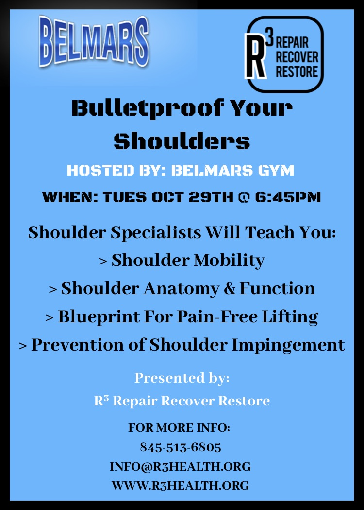 injury prevention workshops
