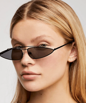 5e6152f21a Edgy and trendy sunglasses are having a moment right now. From matrix styles  to light colored lenses