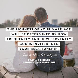 Praying Circles Around Your Marriage
