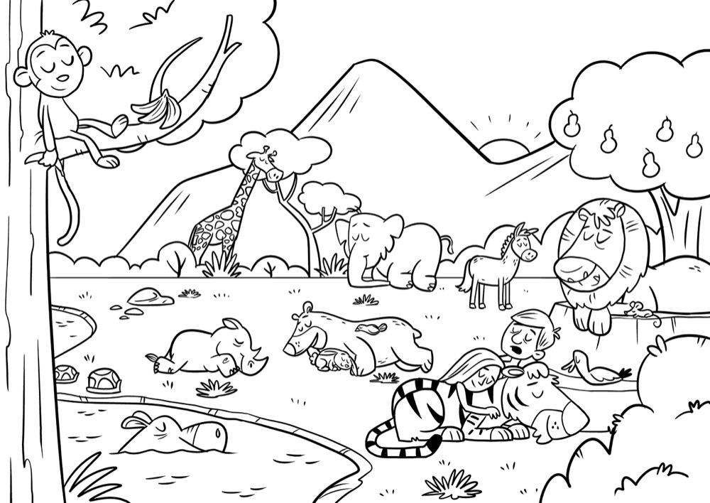 Parable Coloring Pages For Kids Kingdom Of Heaven