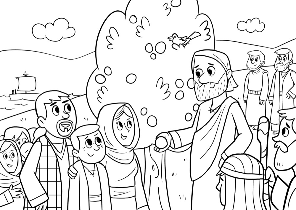 The Sermon on the Mount, Bible App for Kids Story, The