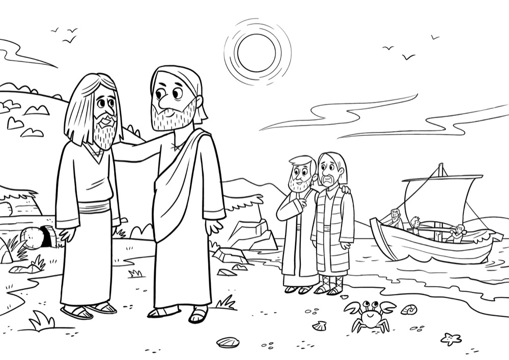 Jesus casts out evil spirits, Bible App for Kids Story