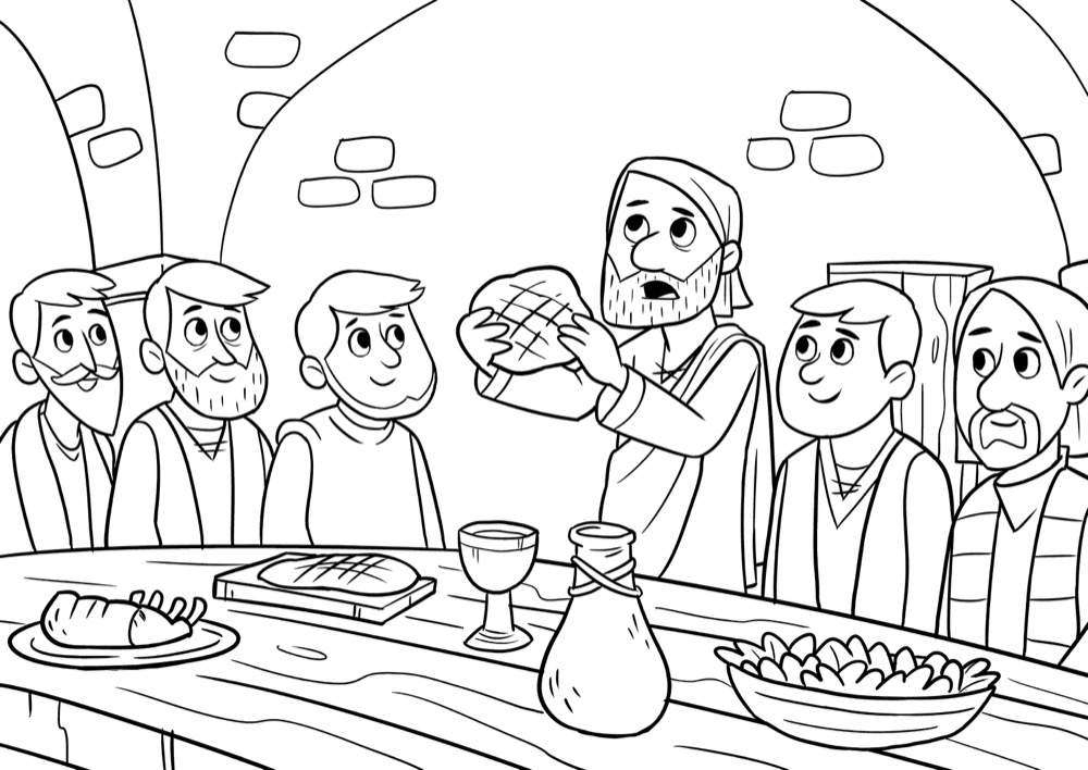 A Goodbye Meal, Bible App for Kids Story, A Goodbye Meal