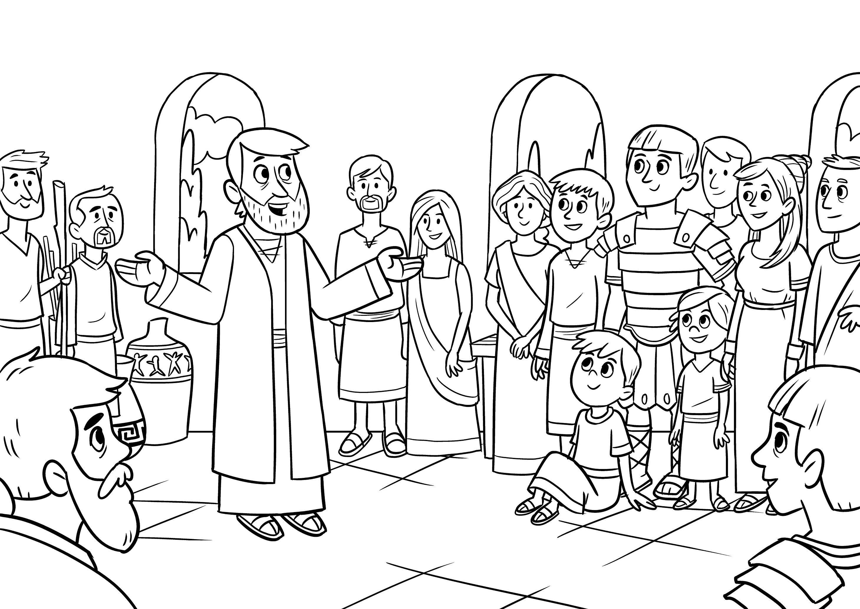 Peter's vision and Cornelius, Bible App for Kids Story