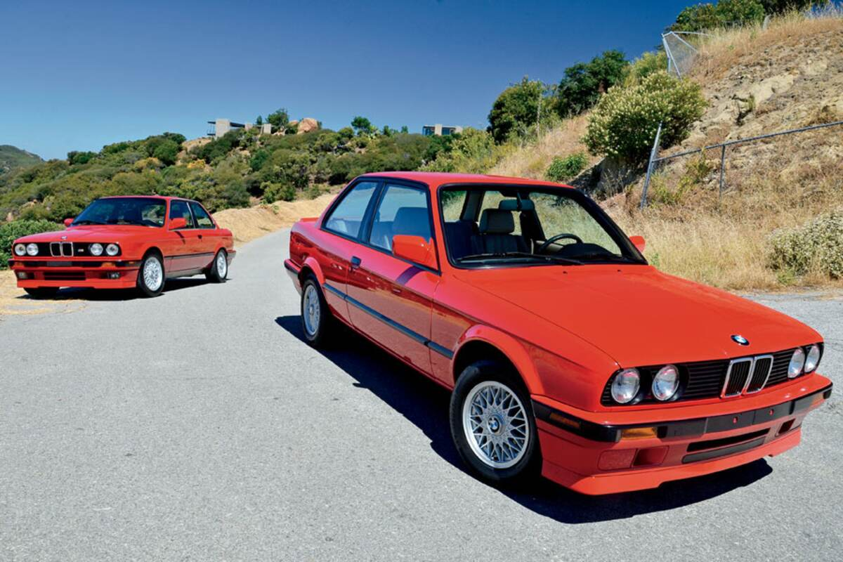 medium resolution of during the e30 generation bmw offered a pair of is models with sport tuned suspension seats aerodynamics and wheels all mated to your choice of a
