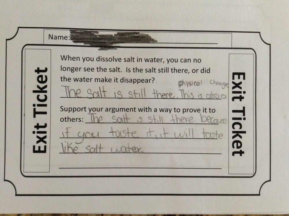 medium resolution of Fifth grade Lesson Dissolving Salt   BetterLesson