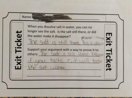 small resolution of Fifth grade Lesson Dissolving Salt   BetterLesson