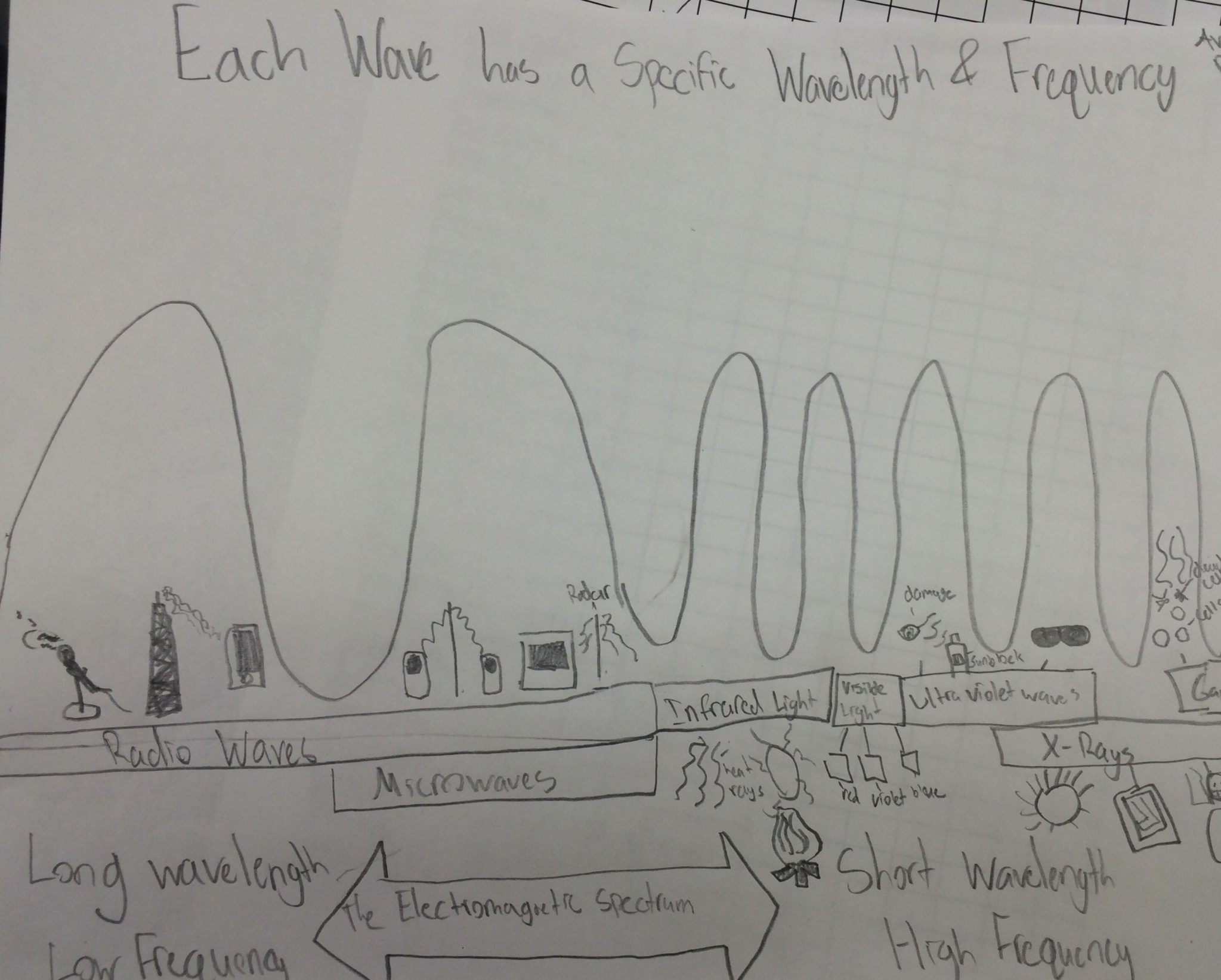 mechanical wave diagram trailer wiring 4 wire lesson the electromagnetic spectrum betterlesson