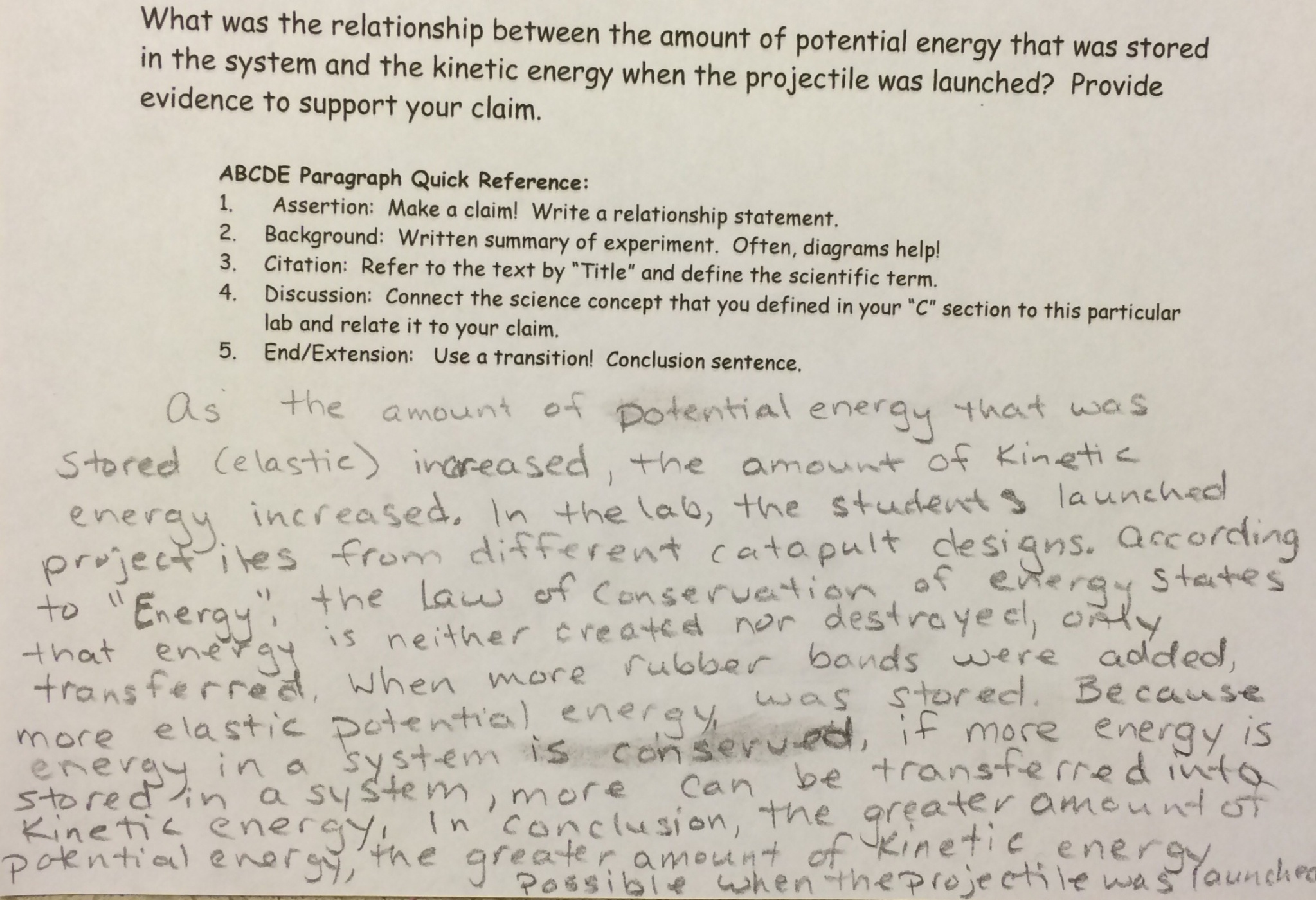 Connecting Concepts Science Worksheet Energy Answers Connecting Best Free Printable Worksheets